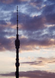 Torre de la televisión Foto de archivo