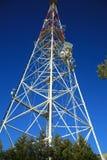 Torre de la televisión Foto de archivo libre de regalías