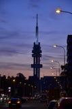 Torre de la televisión Fotos de archivo libres de regalías
