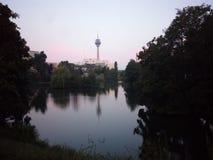 Torre de la televisión Imagenes de archivo
