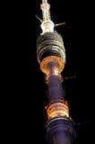 Torre de la televisión de Ostankino Imágenes de archivo libres de regalías