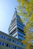 Torre de la televisión en Bratislava Fotos de archivo libres de regalías