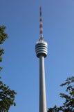 Torre de la televisión en Stuttgart Fotos de archivo libres de regalías