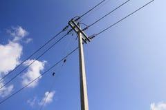 Torre de la transmisión de la electricidad Foto de archivo