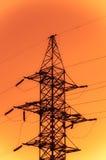 Torre de la transmisión de potencia Imagenes de archivo