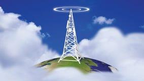 Torre de la transmisión en HD