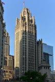 Torre de la tribuna - Chicago fotos de archivo libres de regalías