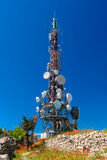 Torre de la TV Foto de archivo libre de regalías