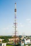 Torre de la TV fotos de archivo libres de regalías