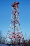 Torre de la TV fotografía de archivo libre de regalías