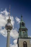 Torre de la TV de Berlín Fotografía de archivo