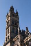 Torre de la universidad Imagenes de archivo