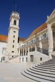 Torre de la universidad de Coimbra Imagenes de archivo