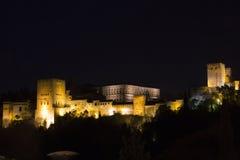 Torre de la Vela. Granada Stock Images