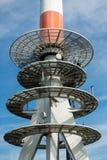 Torre de las radiocomunicaciones Imagen de archivo libre de regalías