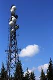 Torre de las telecomunicaciones Foto de archivo libre de regalías