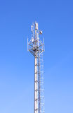 Torre de las telecomunicaciones Imagen de archivo libre de regalías