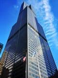 Torre de las voluntades en Chicago Imagenes de archivo