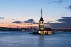 Torre de Leanders, Istambul imagens de stock royalty free