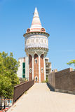 Torre de les Agues Barceloneta, Barcelona Royalty Free Stock Photo