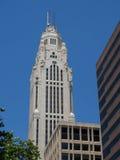 Torre de Leveque em um dia claro fotografia de stock royalty free