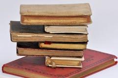 Torre de libros antiguos Fotografía de archivo