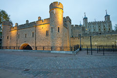 A torre de Londres Imagem de Stock Royalty Free