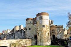Torre de Londres em Inglaterra Imagem de Stock Royalty Free