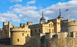 Torre de Londres en Inglaterra Foto de archivo