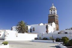 Torre De Los angeles Iglesia De Ntra Señora de Guadalupe fotografia stock