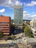 Torre de los artes de la universidad de Sheffield foto de archivo