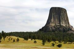 Torre de los diablos Fotos de archivo libres de regalías
