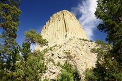 Torre de los diablos Foto de archivo libre de regalías