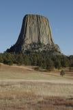 Torre de los diablos Imagen de archivo libre de regalías