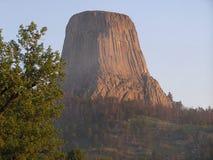 Torre de los diablos - lugar sagrado imágenes de archivo libres de regalías