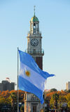 Torre de los Ingleses - Buenos Aires, Argentina Stock Images
