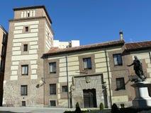 Torre de los Lujanes de la casa y en Madrid Fotos de archivo libres de regalías