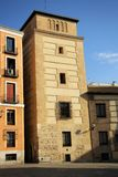 Torre de los Lujanes in Madrid, Spain Royalty Free Stock Photos
