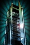Torre de los servidores Imagen de archivo libre de regalías