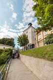 Torre de Lotrscak imagen de archivo libre de regalías