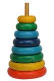 Torre de madeira do anel foto de stock