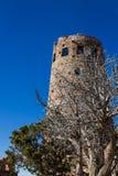 Torre de madeira do relógio Imagens de Stock Royalty Free