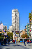 Torre de Madrid in the Capital city of Spain Royalty Free Stock Photography