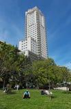 Torre De Madryt Obrazy Stock