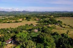 Torre de Manaca Iznaga no vale de Valle de los Ingenios perto da cidade de Trinidad em Cuba Imagem de Stock