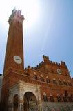Torre de Mangia Imagem de Stock