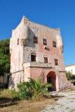 Torre de Markellos, Aegina, Grecia Foto de archivo