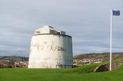 Torre de Martello en Folkestone, Kent, Reino Unido Foto de archivo libre de regalías