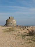 Torre de Martello velha em Eastbourne, Reino Unido fotografia de stock royalty free
