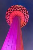 Torre de Menara TV en Kuala Lumpur (Malasia) imagenes de archivo
